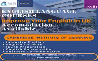 Travel UK from Pakistan for Short English Course