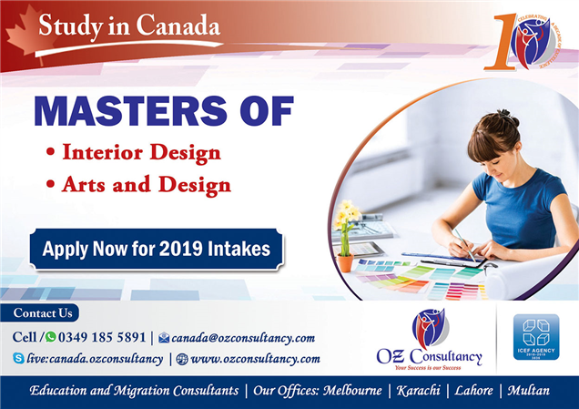 Study Masters Of Interior Art Design Canada