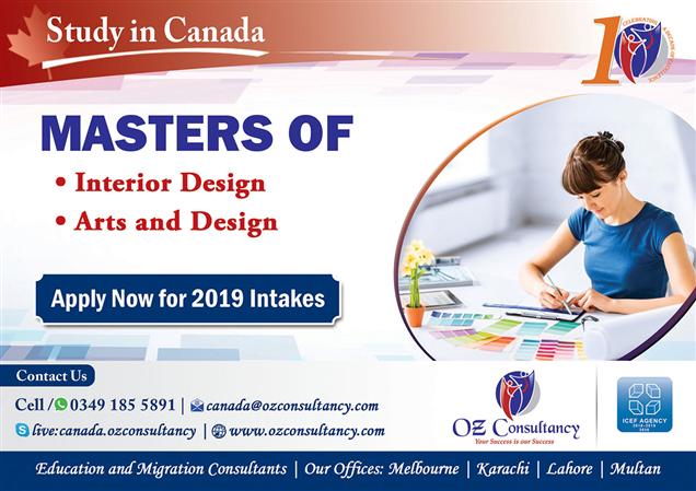 Study Masters Of Interior Art Design Canada