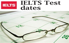 IELTS Test Dates in Pakistan