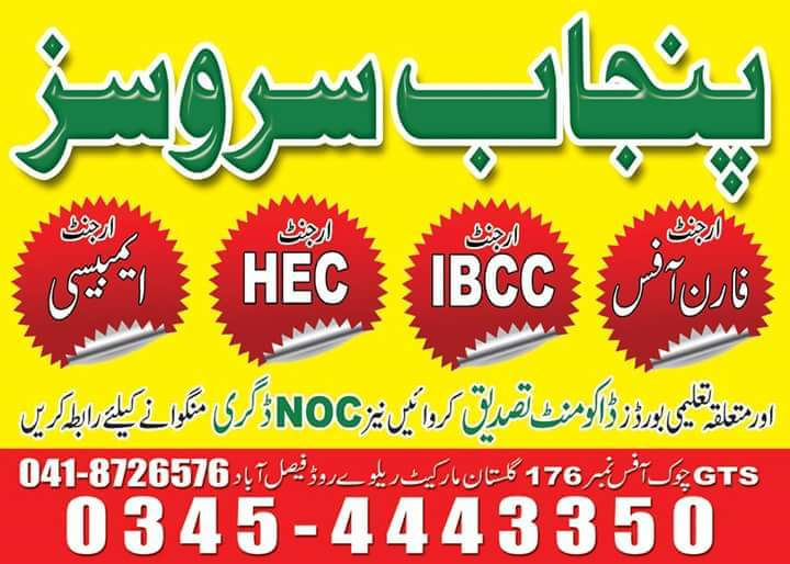 Study abroad consultants in Faisalabad | study abroad