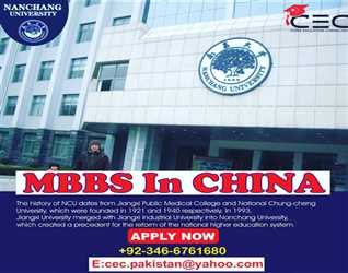 Easy Ways To Study MBBS In China /CEC Pakistan