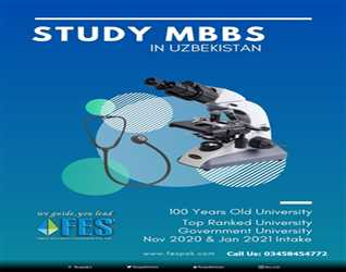 Study MBBS In Uzbekistan With FES Higher Education Consultants Pvt Ltd