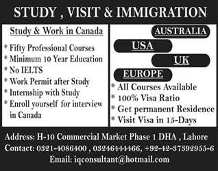 Great opportunity for your future with IQ Consultant