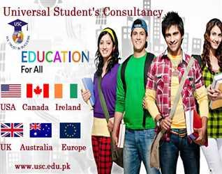 Study in Australia/UK/Canada/Ireland/USA or Europe