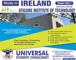 Study in Ireland - Admissions Open in AIT Ireland