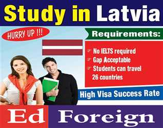 Study In Latvia