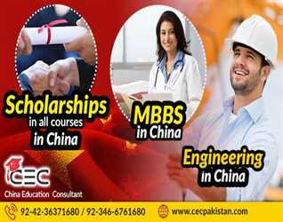 MBBS AND ENGINEERING IN CHINA/CEC PAKISTAN/ADMISSIONS FOR PAKISTANI STUDENTS/SEPTEMBER INTAKE --
