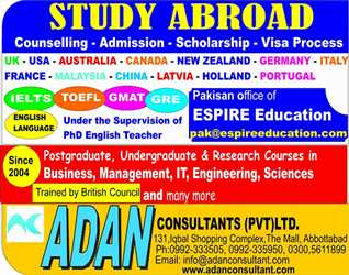 Study Abroad With Adan Consultants ( Pvt ) Ltd.
