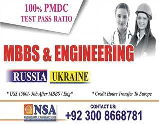 MBBS in Ukraine: WHO Approved, Affordable European Degree, Work Allowed, Post Study Job upto USD 1500. Call for more details +92 300 8668781