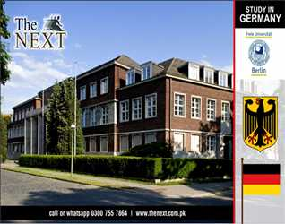 STUDY IN GERMANY BY THE NEXT (PREMIER CONSULTANTS) KARACHI