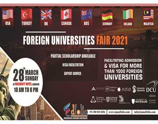 Foreign Universities Fair By EdFolio International Education Counselors