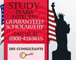 Study in USA with 50% Guaranteed Scholarship