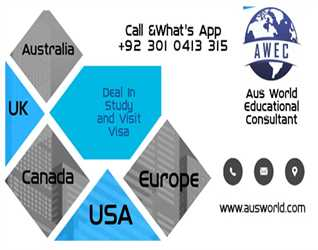Aus Wold Educational Consultants : Study Abroad with Scholarships