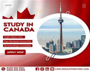 Study In Canada With  LINKED can pak