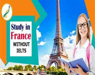 STUDY IN FRANCE-WITHOUT IELTS-Low tuition Fee & Bank statement- Last call for March intake