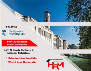 Study in Nottingham University through HRM student solutions