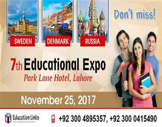 Education Links- 7th Educational Expo @ Park Lane Hotel- Lahore