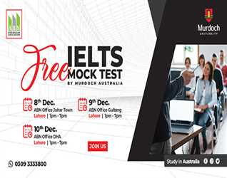 With ABN Overseas Education: Free Mock Test