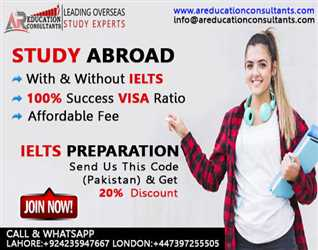 Study Abroad with & without IELTS