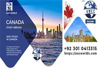 Study in Canada with Aus World Educational Consultants