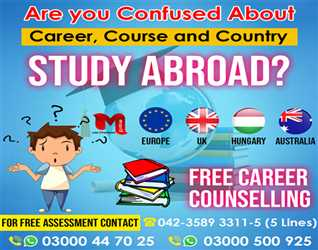 WE WILL HELP YOU IN STUDY ABROAD
