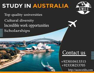 Study in Australia with Aus World Education Consultants