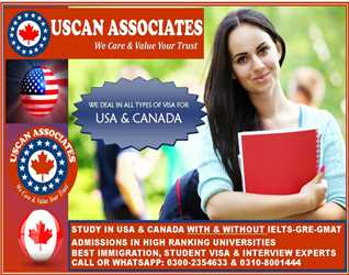Best Opportunity to Study in Abroads in USA & Canada 100% Admission Admission Guarranty