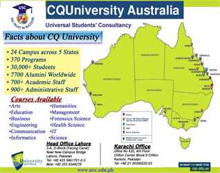 Study in CQ University Australia. A well reputed Australian University.