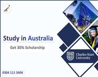 study in Charles sturt university Australia- Scholarship Available