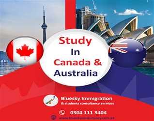 Study In Canada & Australia