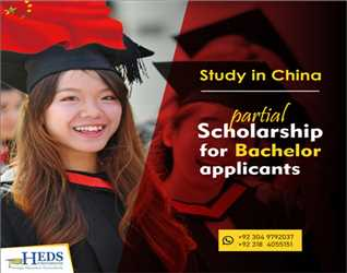Scholarship in China for Bachelor Applicant | Limited seats available