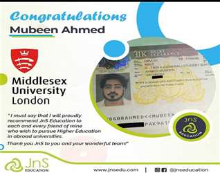 JnS Education: Congratulation Mr. Mubeen Ahmed