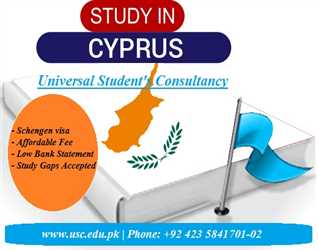 Study in Cyprus (Schengen Visa with Affordable Fee)
