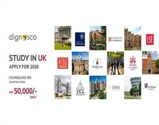 Study with Dignosco in UK