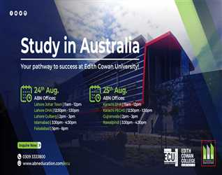 Study at ECU & ECC Australia - Virtual Event