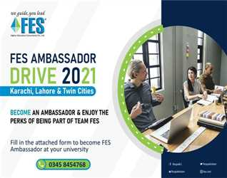 You can reap various benefits by coming part of team FES as an Ambassador. Fill in the form using the link below and we will contact you with further