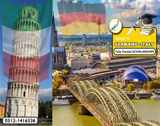 Study in ITALY and Germany - No tuition fee - Part time job allowed