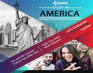 HMARK Consultants                     Study in USA – Apply in top ranked universities of United States of America for January and March, 2018 intakes.