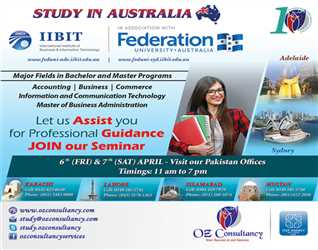 Educational Counselling Seminar on Study in Australia across all offices (Karachi, Lahore, Islamabad & Multan)