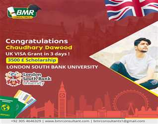 Congratulations to our student for getting visa of United Kingdom. You can also also go for UK studies. On scholarships.