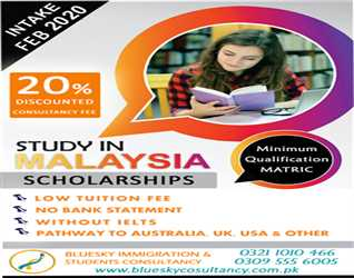STUDY IN MALAYSIA - ADMISSION'S OPEN NOW  INTAKE - SCHOLARSHIPS AVAILABLE