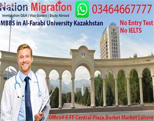 MBBS in Al-Farabi Kazakh National University Kazakhstan, No IELTS, Lowest Tuition Fee