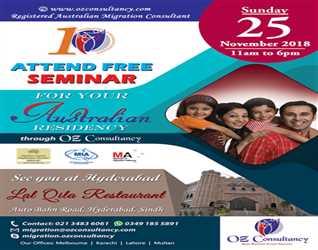 Study abroad Seminar in Hyderabad..!!