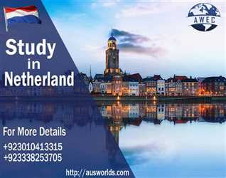 Study in Netherlands with Aus World Educational Consultants