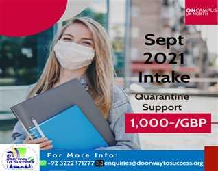 #ByYourSide ONCAMPUS UK North Quarantine Support