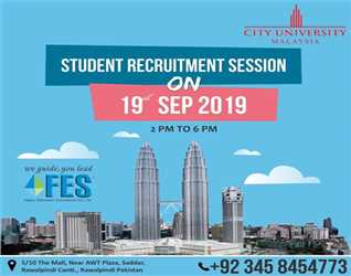 Student Recruitment Session For City University Malaysia  @ FES Higher Education Consultants Pvt Ltd