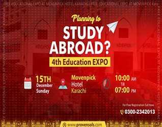 Study Abroad Education Expo- Karachi