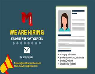 STUDENT SUPPORT OFFICER