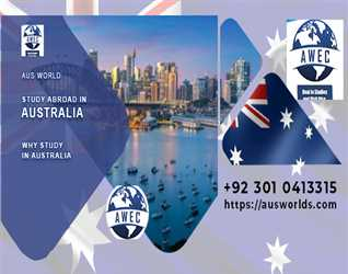 Study in Australia with Aus World Educational Consultants